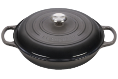 Le Creuset Signature Cast Iron Braisers - Oyster