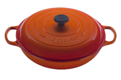 Le Creuset Signature Cast Iron Braisers - Flame