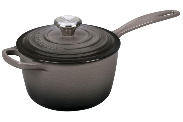 Le Creuset Signature Cast Iron Saucepans - Oyster
