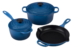 Le Creuset Signature Cast Iron 5-Piece Cookware Set - Marseille