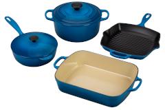 Le Creuset Signature Cast Iron 6-Piece Cookware Set - Marseille