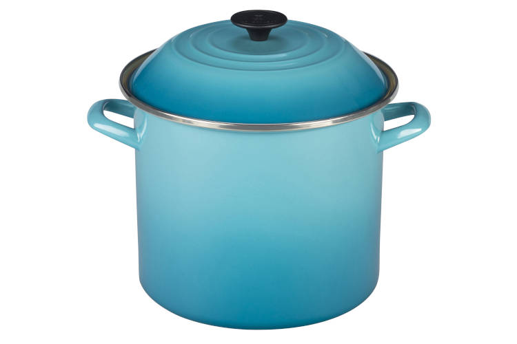 Le Creuset Enamel on Steel Stockpots - Caribbean