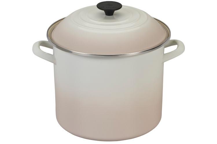 Le Creuset Enamel on Steel Stockpots - Meringue