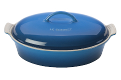 Le Creuset Stoneware Heritage 4 Quart Covered Oval Casserole - Marseille
