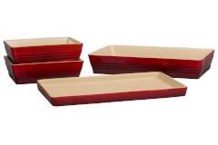Le Creuset Stoneware 4 Piece Scandinavia Bakeware Sets