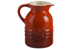 Le Creuset Stoneware Syrup Jar Cerise
