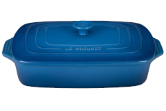Le Creuset Stoneware 3.5 Quart Covered Rectangular Casserole - Marseille