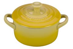Le Creuset Stoneware Mini Round Cocotte - Soleil