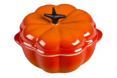 Le Creuset Stoneware Petite Pumpkin Cocotte - Flame
