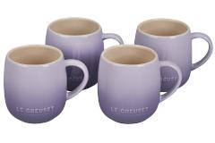 Le Creuset Stoneware Set of 4 Heritage Mugs - Provence