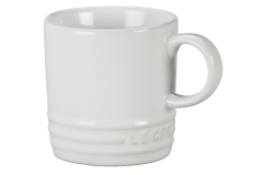 Le Creuset Stoneware Classic Espresso Mug - White