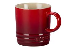 Le Creuset Stoneware Classic Espresso Mug - Cerise
