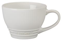 Le Creuset Stoneware Bistro Mug - White