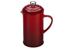 Le Creuset Stoneware 12oz French Press - Cerise