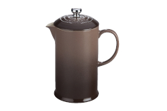 Le Creuset Stoneware 27oz French Press - Truffle