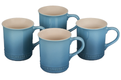 Le Creuset Stoneware Set of 4 Mugs - Caribbean