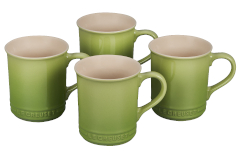 Le Creuset Stoneware Set of 4 Mugs - Palm
