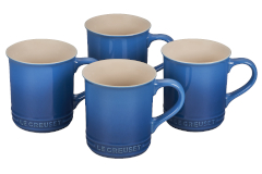 Le Creuset Stoneware Set of 4 Mugs - Marseille