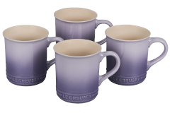 Le Creuset Stoneware Set of 4 Mugs - Provence