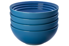 Le Creuset Stoneware Set of (4) 22 oz. Soup Bowls - Marseille