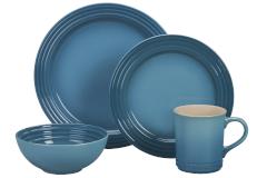 Le Creuset Stoneware 16-Piece Dinnerware Set - Caribbean