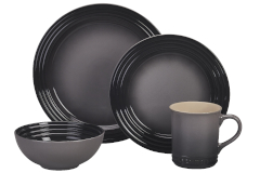 Le Creuset Stoneware 16-Piece Dinnerware Set - Oyster