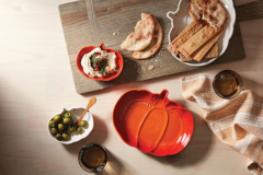 Le Creuset Stoneware Pumpkin-Shaped Dish