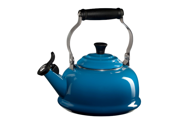 Le Creuset Enamel on Steel 1.7 Quart Whistling Tea Kettle - Marseille