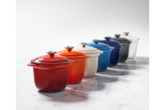 Le Creuset Cast Iron Rice Pots with Insert