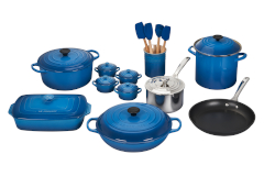 Le Creuset 20-Piece Mixed Material Cookware Set- Marseille