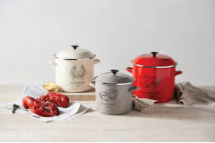 Le Creuset Enamel on Steel Seafood Inspired Stockpots
