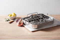 All-Clad Stainless Roasting Pans with Nonstick Rack