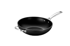 "Le Creuset Toughened Nonstick PRO 12"" Stir-Fry Pan"