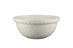 Mason Cash In The Forest 4.25 Quart Fox Embossed Mixing Bowl Cream
