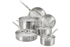 Hestan ProBond Forged Stainless Steel 10-Piece Cookware Set