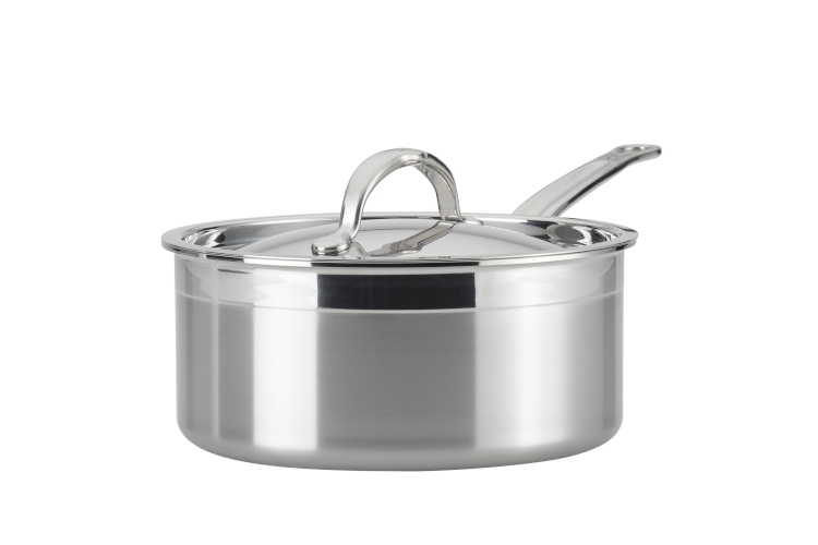 Hestan ProBond Forged Stainless Steel Saucepans with Lid