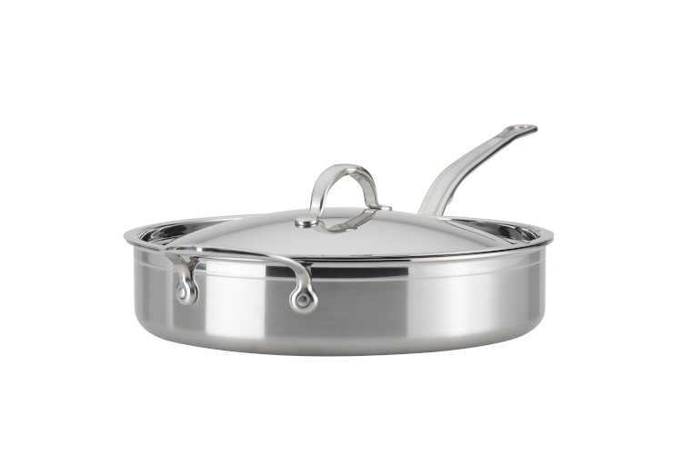 Hestan ProBond Forged Stainless Steel Sauté Pans with Lid