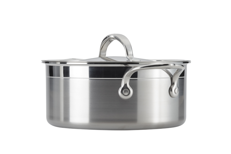 Hestan ProBond Forged Stainless Steel 3 Quart Soup Pot with Lid