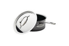 Hestan NanoBond Stainless Steel Saucepans with Lid