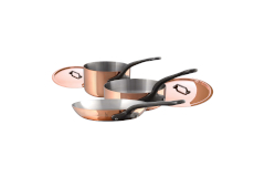 Mauviel M'héritage M'150c2 Copper & Stainless Steel 5-Piece Cookware Set