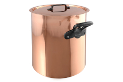 Mauviel M'héritage M'150c2 Copper & Stainless 11.2 Quart Stockpot with Lid
