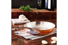 Mauviel M'héritage M'150c2 Copper & Stainless Fry Pans