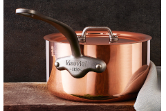 Mauviel M'héritage M'150c2 Copper & Stainless Steel Saucepans with Lid