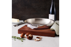 Mauviel M'cook Stainless Steel Round Fry Pans