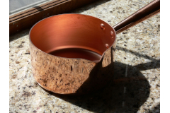 Mauviel M'passion Copper Sugar Saucepans