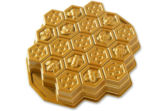 Nordic Ware Cast Aluminum Honeycomb Pull-Apart Dessert Pan