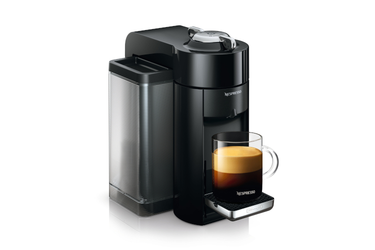 Nespresso by De'Longhi Vertuo Coffee and Espresso Machine Black