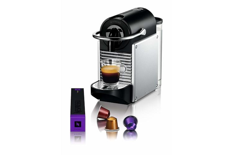 Nespresso Pixie Coffee Machine Aluminum