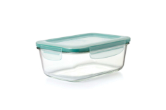OXO Good Grips 8-Cup Rectangular Smart Seal Glass Container