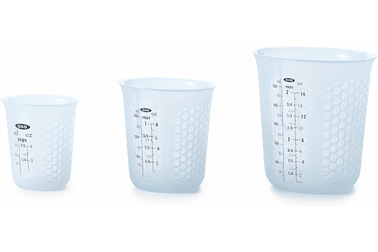 OXO Squeeze & Pour Silicone Measuring Cups
